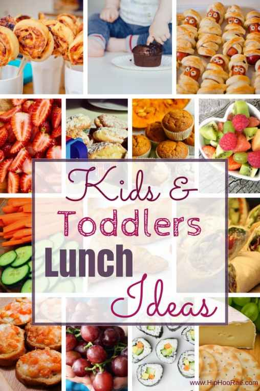 Kids and Toddler Lunch Ideas and How to Get Kids Involved with Planning Their Lunch!