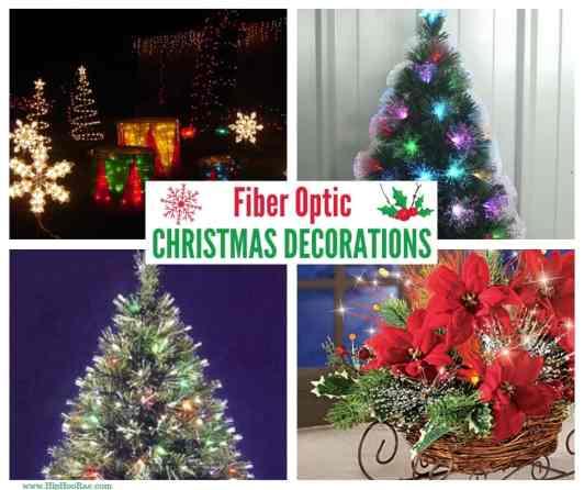 Fiber Optic Christmas Decorations - Fiber Optic Christmas Decorations - Hip Hoo-Rae