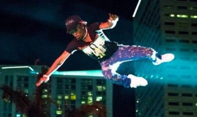 Lil Uzi Vert Takes Another Huge Dive Into Crowd at Rolling Loud 2018