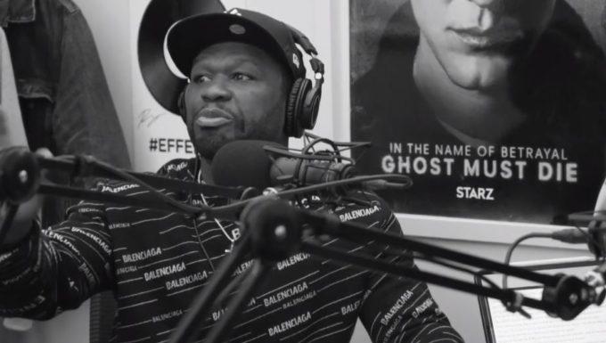 50 Cent Drops A Freestyle on Omari Hardwick's Poetics Podcast: Watch-