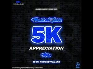 Musical Jazz – 5K Appreciation Mix (100 Production Mix) Mp3 Download