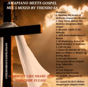 Thendo SA – Amapiano Gospel Mix Mp3 Download Fakaza
