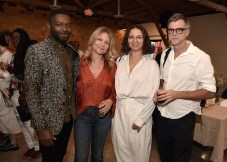 """LOS ANGELES, CA - AUGUST 16: David Oyelowo, Gretchen Lieberum, Maya Rudolph and Paul Thomas Anderson at the Ava Duvernay Hosted Special Screening of the Blumhouse film """"Don't Let Go"""" at the Amanda Theater at Array Creative Campus on August 16, 2019 in Los Angeles, California. (Photo by Scott Kirkland/Blumhouse/PictureGroup)"""