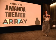 """LOS ANGELES, CA - AUGUST 16: Ava Duvernay at the Ava Duvernay Hosted Special Screening of the Blumhouse film """"Don't Let Go"""" at the Amanda Theater at Array Creative Campus on August 16, 2019 in Los Angeles, California. (Photo by Scott Kirkland/Blumhouse/PictureGroup)"""
