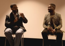 """LOS ANGELES, CA - AUGUST 16: Jamil Smith and David Oyelowo at the Ava Duvernay Hosted Special Screening of the Blumhouse film """"Don't Let Go"""" at the Amanda Theater at Array Creative Campus on August 16, 2019 in Los Angeles, California. (Photo by Scott Kirkland/Blumhouse/PictureGroup)"""