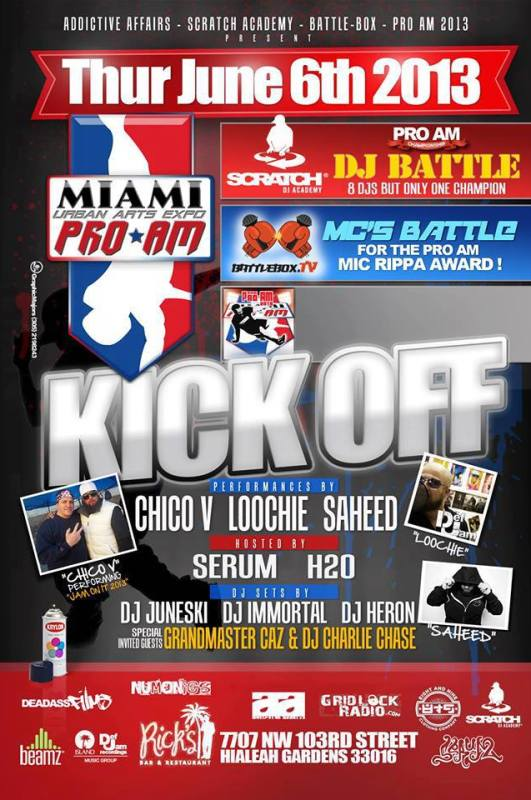 ProAm DJ & MC Battle 2013