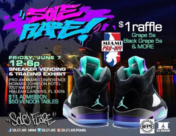 Miami ProAm Sneaker Expo