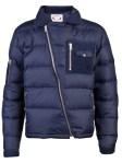 Gant down jacket with asymetrical zipper
