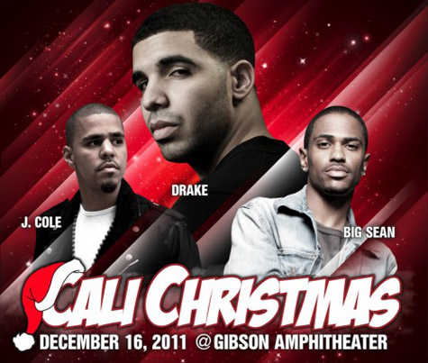 video drake j cole big sean more shut down la at power 106s cali christmas concert hip hop enquirer magazine llc