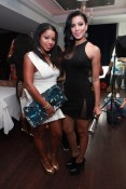 Mashonda Tifrere (L) and Julissa Bermudez