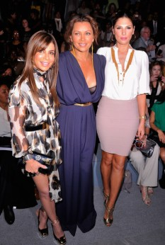 (L-R) Paula Abdul, singer Vanessa Williams and Daisy Fuentes attend the Carlos Miele Spring 2013 fashion show during Mercedes-Benz Fashion Week at The Stage at Lincoln Center on September 10, 2012 in New York City.