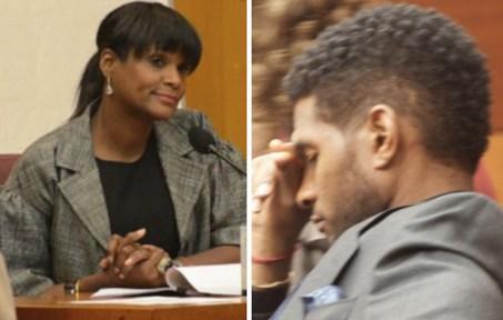 Usher and Tameka