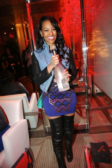 Maylasia Pargo from Basketball Wives LA
