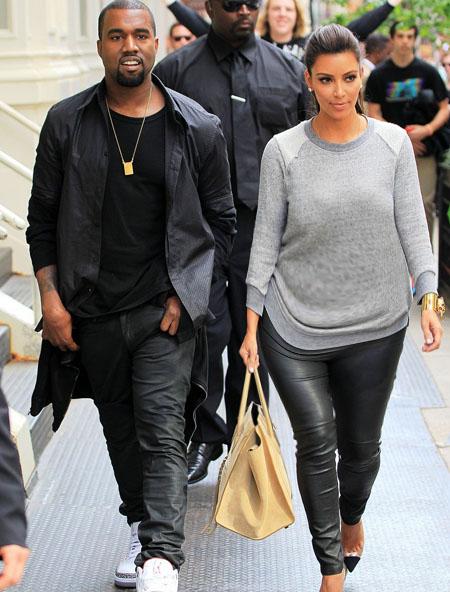 Kim Kardashian and Kanye West expecting baby
