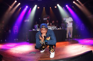 Rapper Curren$y performs onstage at the BMI 15th Annual Unsigned Urban Showcase, held at Terminal West on April 11, 2013 in Atlanta, GA.