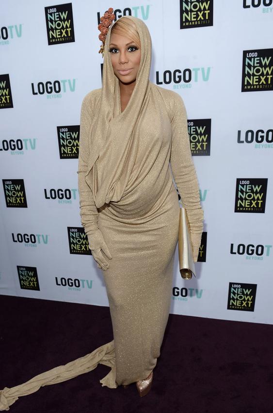 Tamar-Braxton-2013-Logo-Awards-Michael-Costello-Dress