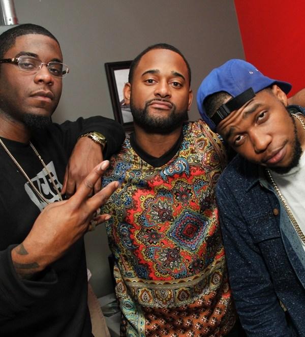 Big K.R.I.T, BMI's Byron Wright and Curren$y