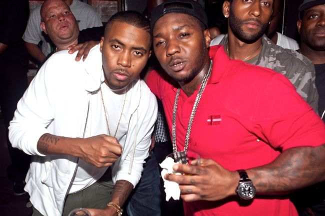 Nas and Lil Cease