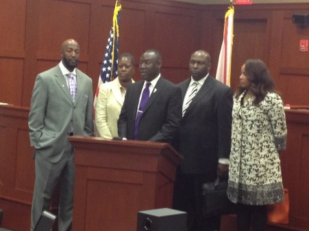 The Trayvon martin family holds press conference