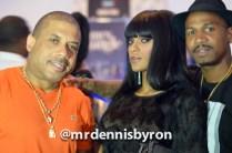 Benzino, Joseline Hernandez, and Stevie J