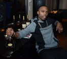 B.o.B with engraved Hennessy X.O