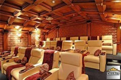 Drake house movie room