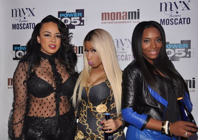Lore'l, Nicki Minal, & Yandy Smith at Powerhouse Concert