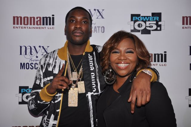 Meek Mill and Mona Scott-Young