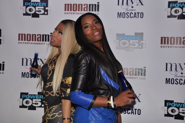 Nicki Minaj and Yandy Smith