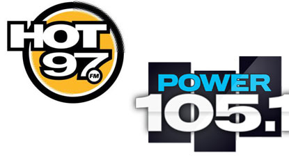 Power 105 and Hot 97