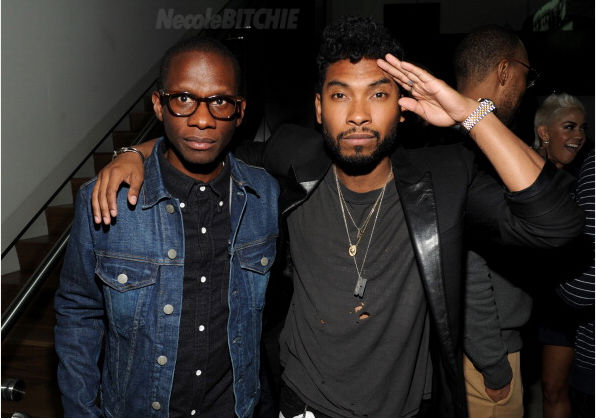 Troy Carter and Miguel Pre-Grammy Party