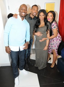 Vanessa Simmons and her boyfriend Mike Wayans baby Shower at Sugar Factory