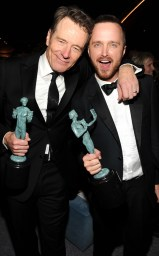 Breaking Bad Stars Bryan Cranston & Aaron Paul