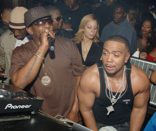 Timbaland's Award Show After Party At Jet Nightclub At The Mirage