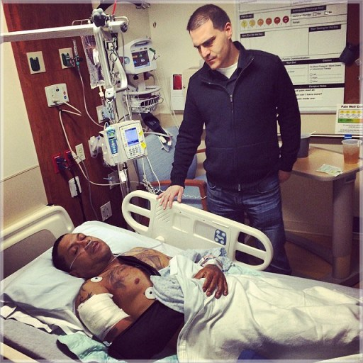 Benzino in stable condition with Dave Mays of Hip Hop Weekly