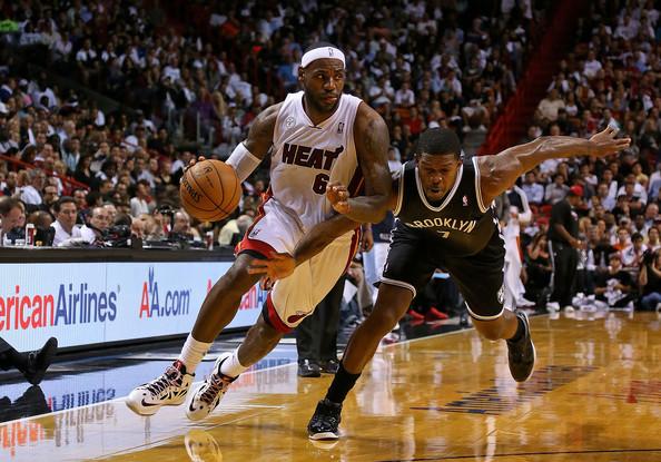 LeBron+James+Brooklyn+Nets+v+Miami+Heat+WVVMU0AXhLXl
