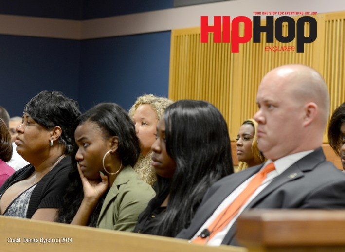 Lil Phat's mother, cousins and lead detective in the case JT Williams