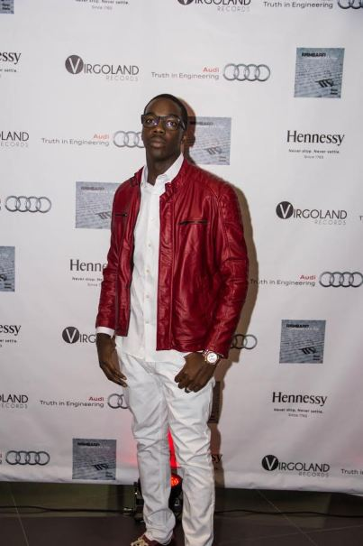 "​ Singer/Songwriter Reneard at his ""Confessions of A Virgo"" Album Release Party at Audi Atlanta"