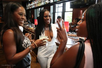Beautii J - Maja Sly share a moment with Jelisa Cook