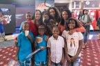 Monique Jackson - Kita Williams - Torrei Hart and kids