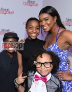 "ATLANTA, GA - OCTOBER 26: Alkoya Brunson, Nadej Bailey, Marley Taylor and Gabrielle Union attends ""Almost Christmas"" Atlanta screening at Regal Cinemas Atlantic Station Stadium 16 on October 26, 2016 in Atlanta, Georgia. (Photo by Paras Griffin/Getty Images for Universal Pictures)"