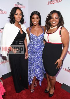 "ATLANTA, GA - OCTOBER 26: Keri Hilson, Gabrielle Union, and Mo'Nique attends ""Almost Christmas"" Atlanta screening at Regal Cinemas Atlantic Station Stadium 16 on October 26, 2016 in Atlanta, Georgia. (Photo by Paras Griffin/Getty Images for Universal Pictures)"