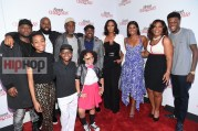 "ATLANTA, GA - OCTOBER 26: (L-R) Omar Epps, David E. Talbert, Danny Glover, Alkoya Brunson, Nadej Bailey, Marley Taylor, Will Packer, Keri Hilson, Gabrielle Union, Mo'Nique and DC Young Fly attend ""Almost Christmas"" Atlanta screening at Regal Cinemas Atlantic Station Stadium 16 on October 26, 2016 in Atlanta, Georgia. (Photo by Paras Griffin/Getty Images for Universal Pictures)"