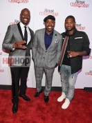 "ATLANTA, GA - OCTOBER 26: Tyrese Gibson, Will Packer and Usher Raymond attend ""Almost Christmas"" Atlanta screening at Regal Cinemas Atlantic Station Stadium 16 on October 26, 2016 in Atlanta, Georgia. (Photo by Paras Griffin/Getty Images for Universal Pictures)"