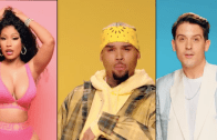 "Chris Brown Links up with Nicki Minaj & G-Eazy for New Video ""Wobble Up"""