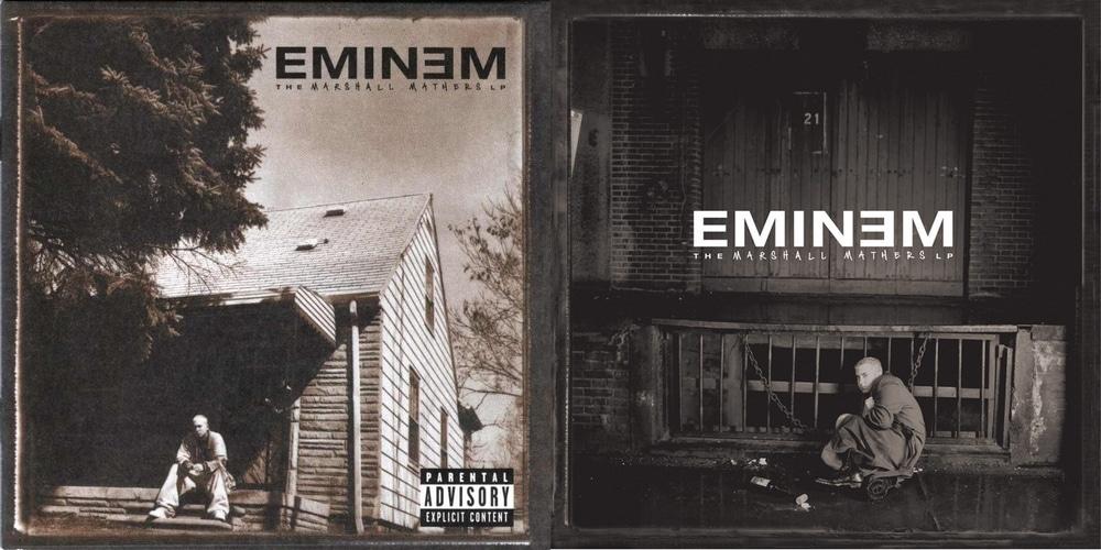 Les deux covers de l'album