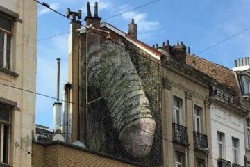 Pénis graffiti Bruxelles