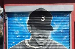Jake Mertens Chance The Rapper fresque murale