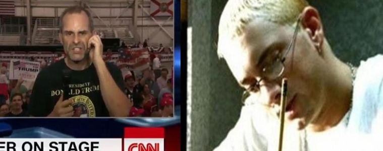 "Un supporter de Donald Trump reprend malgré lui ""Stan"" d'Eminem"