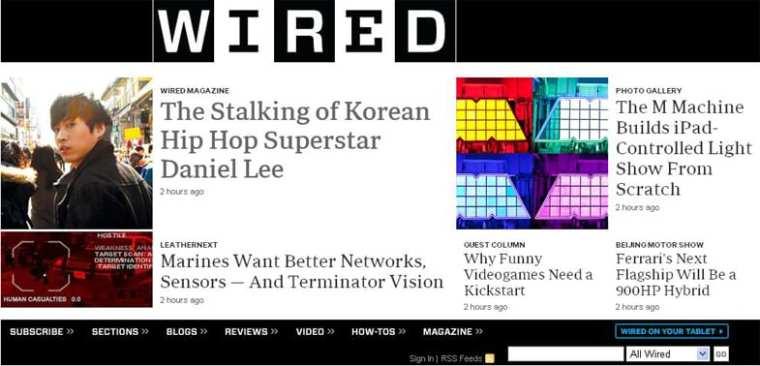 Tablo featured on WIRED Magazine